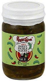 Ragin Cajun Spicy Sweet Pickle Slices 12oz Jar (Pack of 3)