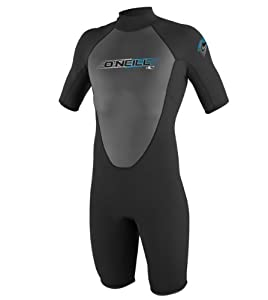 O'Neill Wetsuits Reactor 2mm Short Sleeve Spring, Black, Large