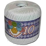 White Crochetta Crochet Cotton 10s / 3ply
