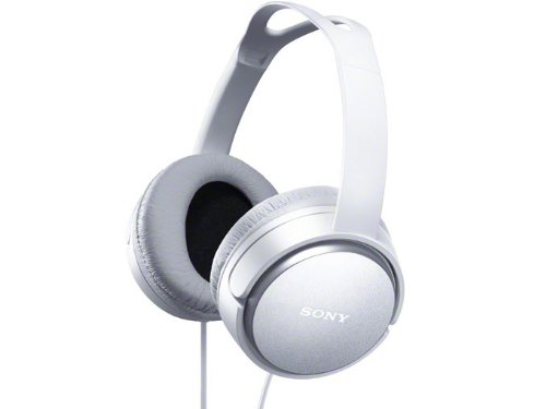 Sony Stereo Headphones White Mdr-Xd150/W
