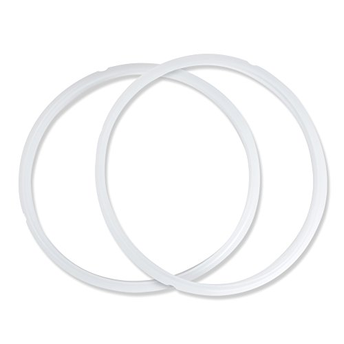 CYLAPEX Silicone Sealing Ring for Instant Pot Pack of 2