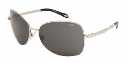 Tiffany & Co 3006B SILVER SMOKE GRAY 60013F Sunglasses