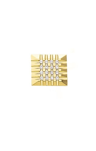 14K Yellow Gold Magnificent Tie Tac with .14 ct. Diamonds-89143