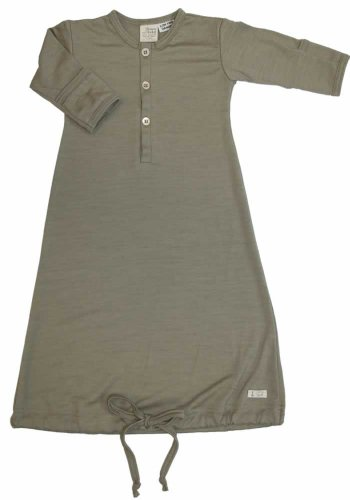 Today Nature Baby Organic Merino Classic Gown, 3-6 months, Sage  Review
