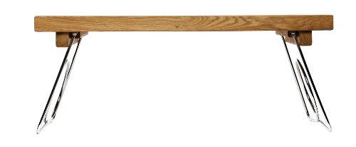 Sagaform-Ovales-Bett-Tablett-mit-Klappbeinen-Eichenholz