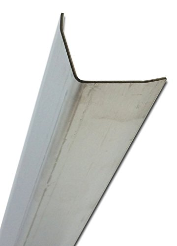 """#4 Stainless 304 Protective Corners 1.5"""" X 1.5"""" X 36"""" No Holes"""