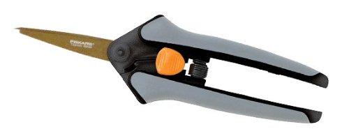 Набор садовых инструментов Fiskars Titanium Softtouch Micro Tip Snips 800016