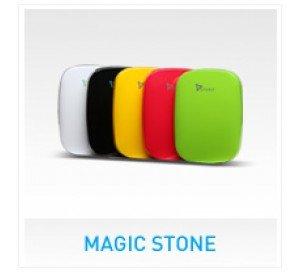 SYSKA POWER BANK 6000mAh Magic Stone  Black  available at Amazon for Rs.2099