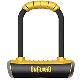 OnGuard Pitbull Medium 8006m Bike U-Lock w/ Bracket
