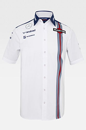 Williams Martini Racing Short-Sleeve Team Shirt 2015 Large (Hackett Clothing compare prices)