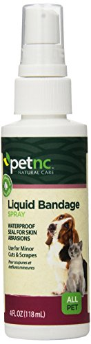 Petnc Natural Care Liquid Bandage Spray For All Pets  Ounce