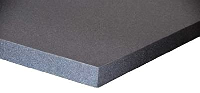 Schaumstoff Platten Set 3 Stück a 50x50x7cm Polyurethan gem.Öko Tex St.100 anthrazit RG26 SH40 von schaumstoff.com bei Gartenmöbel von Du und Dein Garten