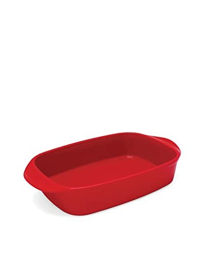 Chantal Classic Rectangular 4.5-Qt. Baking Dish, True Red