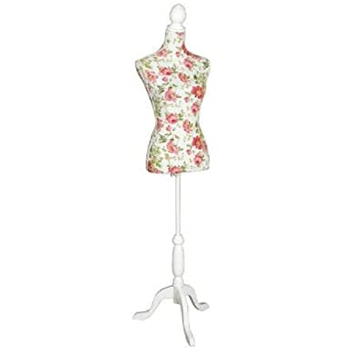 Girls in town garden print style mannequin, tailors dummy, body stand, from centurion pine
