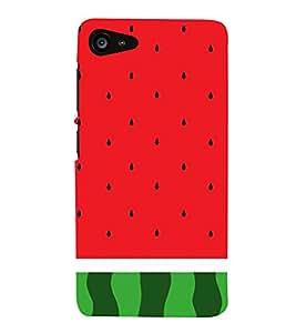 Watermelon Redish 3D Hard Polycarbonate Designer Back Case Cover for Lenovo Zuk Z2