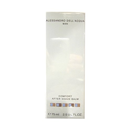 Alessandro dell acqua man comfort after shave balm - 75 ml