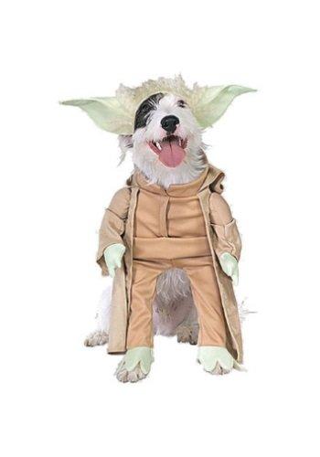 Yoda Dog Costume - Large front-492057