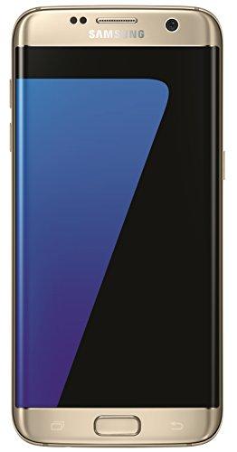 "Samsung Galaxy S7 Edge - Smartphone de 5.5"" (SIM única, Android, memoria interna de 32 GB, 4G, NanoSIM, HSPA+, LTE, Micro-USB), oro"