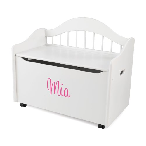 Pink Fairy Wishes Bench Seat With Storage Toy Box Seating: Limited Edition Toy Chest Honey