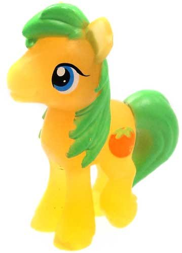 My Little Pony Friendship is Magic 2 Inch PVC Figure Series 7 Mosley Orange - 1