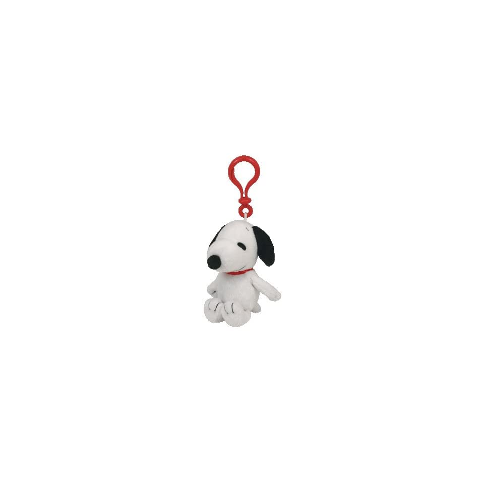 2ab94477a82eb TY INC Beanie Baby Peanuts Snoopy Key Clip on PopScreen