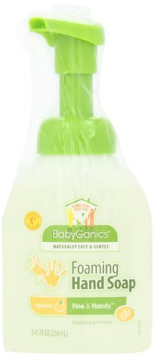 Babyganics Fine and Handy Foaming Hand Soap, Tangerine, 8.45-Ounce (Pack of 2)