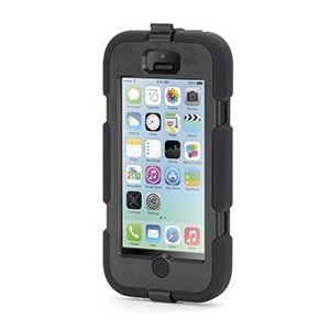 Griffin Black Heavy Duty Survivor Case for iPhone 5c at Sears.com
