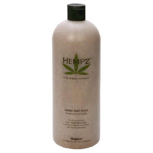 Hempz Herbal Exfoliator Scrub Sandalwood & Apple 33.8 Oz