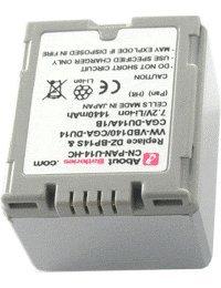 Akku für PANASONIC NV GS320EF-S, Hohe Leistung, 7.2V, 1440mAh, Li-Ionen