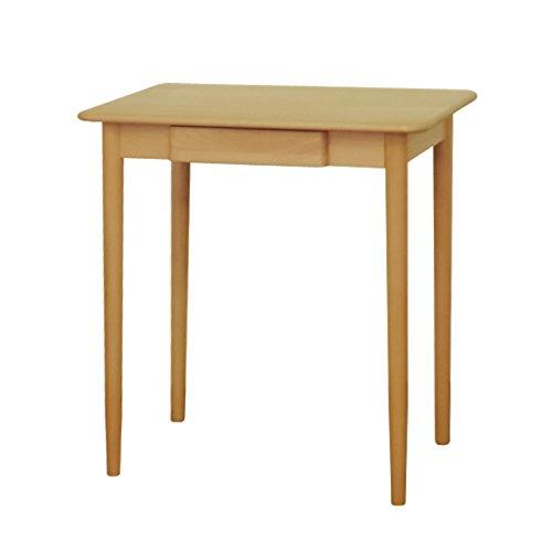 予約販売中! ISSEIKI デスク 木製机 【木目の美しいビーチ材使用】 スリムで置き場所を選ばない幅70cmのつくえ