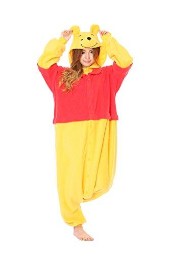 Winnie The Pooh Kigurumi - Adult Halloween Costume Pajama front-475975