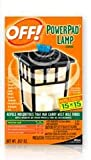 Lawn & Patio - Johnson S C Inc 14157 Off PowerPad Mosquito Repellent Lamp