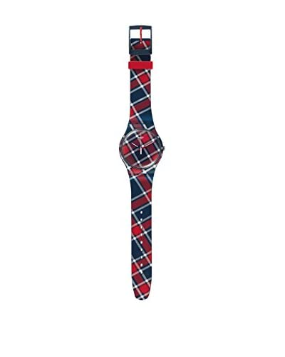 Swatch Orologio al Quarzo Unisex Color-Kilt 41 mm