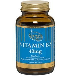 Vega Vitamin B2 (Riboflavin) 40mg - 120 Caps