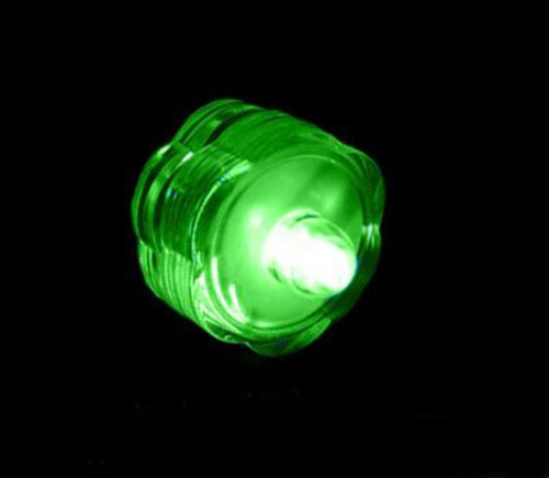 Ebuyingcity Flower Shape Submersible Underwater Led Night Light Birthday Party Candel Light , Green Color, Wedding Tealight