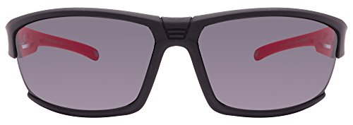 Vincent Chase VC 5995 Matte Black Red Grey C3 Sunglasses (101056)