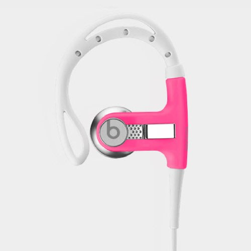 Beats By Dr. Dre Athlete Engineered Passive Sound Isolation Powerbeats (Neon Pink)