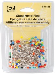 Review Of Wrights 881426 Glass Head Multicolor Pins, 150-Pack