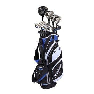 DCT Macgregor in acciaio/grafite, Set da golf con borsa, colore: nero/bianco/blu, 23 cm