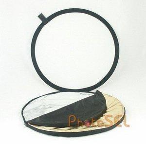 PhotoSEL RFC53 80 cm 5-in-1 Collapsible Circular Reflector