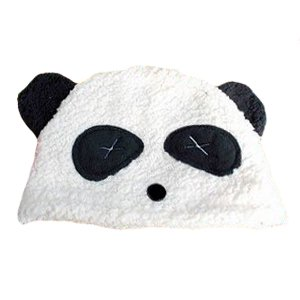 Confuse Silly Panda Costume Beanie Hat