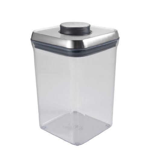 Oxo Steel Pop 4-Quart Square Container