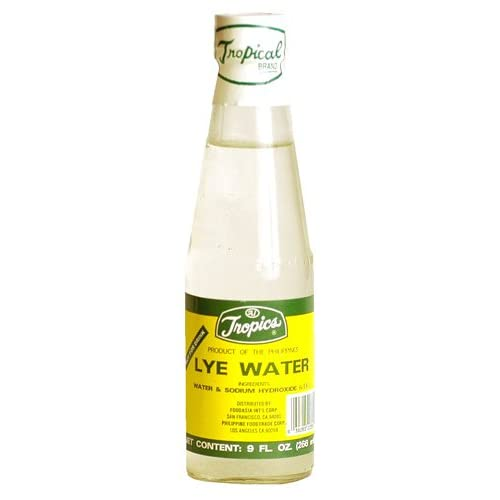 Amazon.com : Tropics Lye Water - 9 oz. : Spices And Seasonings