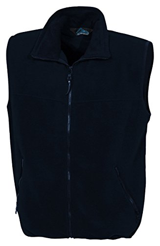 Tri-Mountain Panda Fleece Vest. - Navy / Navy - Xxxx-Large