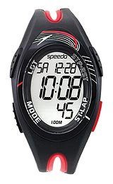 Speedo 150 Lap Vibration Alarm Grey Dial Men's watch #SD55138BX