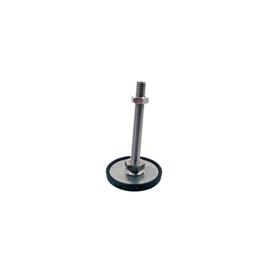 Inch Size 3.94 Thread Length 2.36 Base Diameter 3.94 Thread Length Inc 43-60-3//8X16-100-D0-SK Winco 440.6-60-3//8-16-100-OS Series GN 440.6 Stainless Steel Leveling Feet with Fixing Lug 3//8-16 Thread Size J.W 2.36 Base Diameter