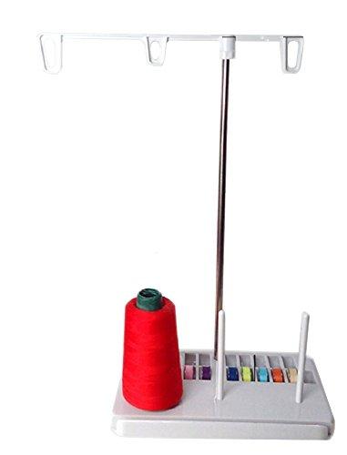 【Joyful Mart】家庭 用 工業 用 職業 業務 用 ミシン 用 3本 糸立 て ボビン 収納 付