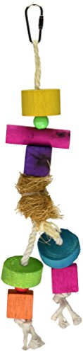 Prevue Pet Products Tropical Teasers Medium Hula Doll Bird Toy, Multicolor