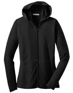 Port Authority Ladies Modern Stretch Cotton Full-Zip Jacket, black, XXXX-Large