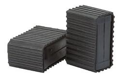 XLC Pedal Blocks; 1 Pair; Black